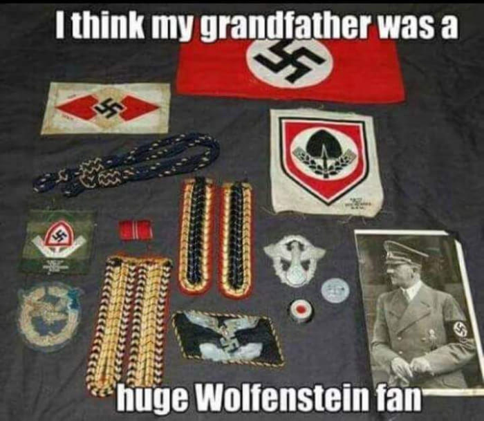 YEAH...Wolfenstine... - meme