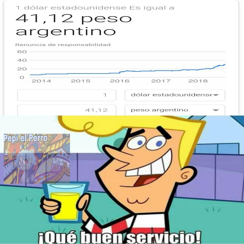 Y sigue subiendo... Pray 4 Argentina - meme