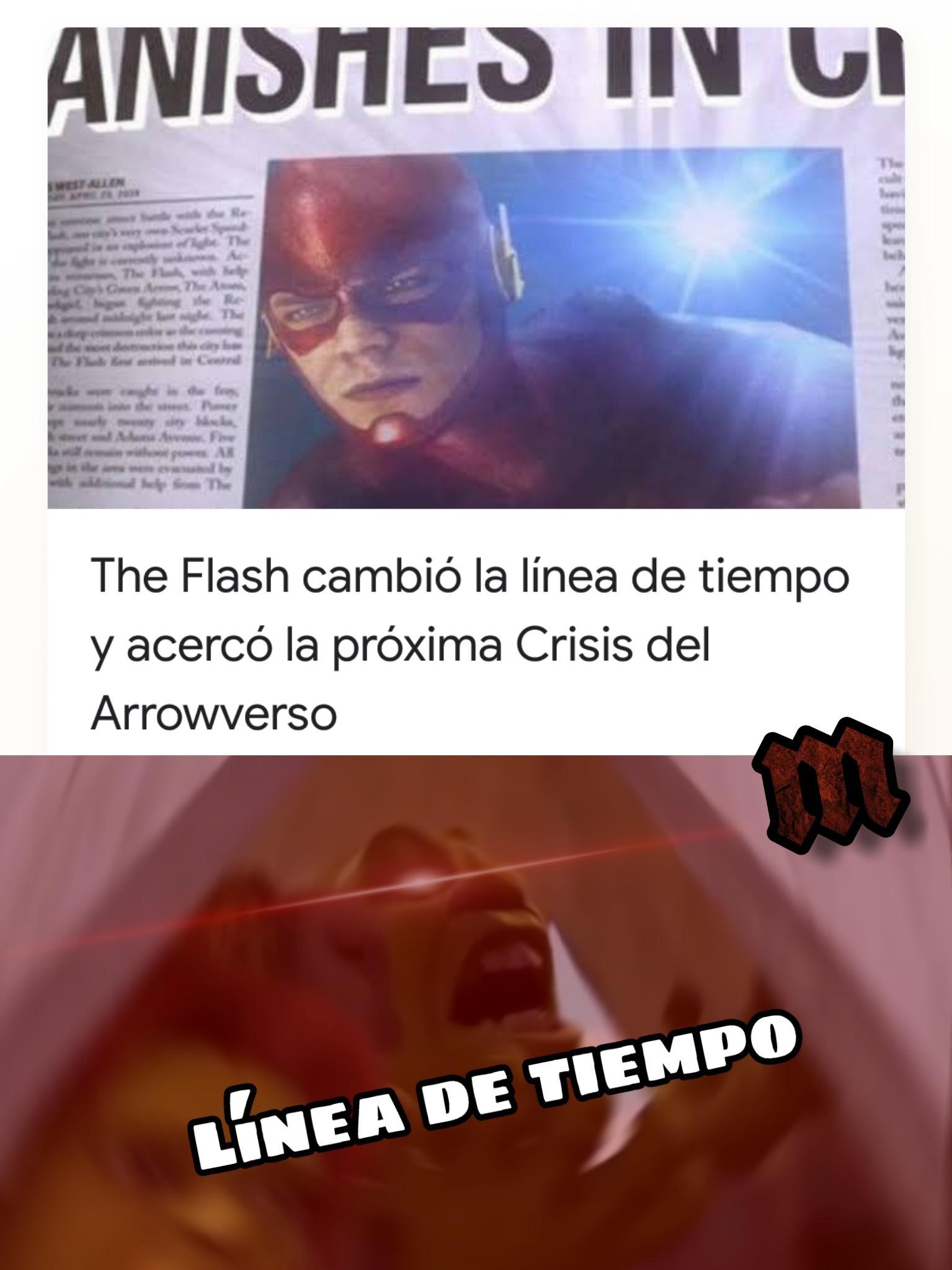 FLASH!!!!!! - meme