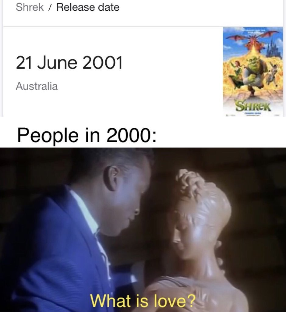Shrek is love. - meme