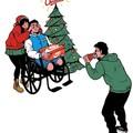Feliz Navidad puto inválido