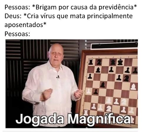 Jogada Magnífica - meme