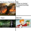 Save the Amazon Rainforest