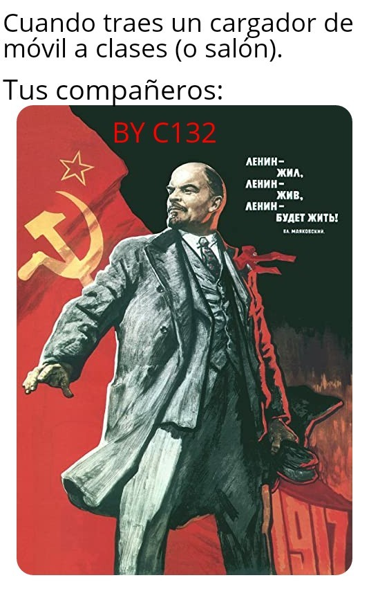 Comunistas - meme