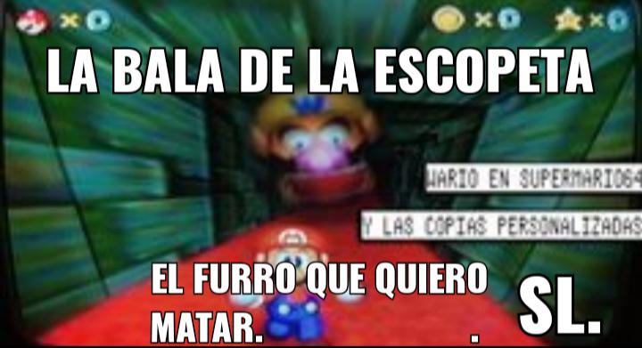 Es la beta de super Mario 64 - meme
