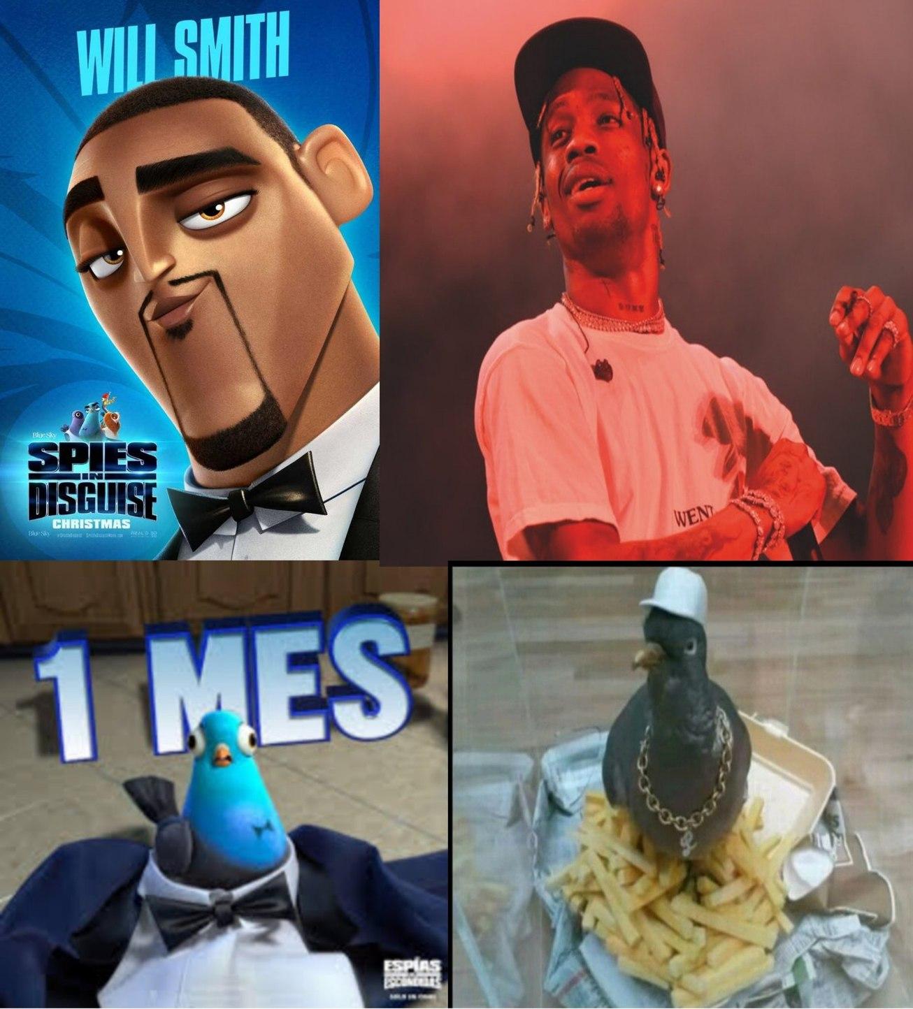Travis Scott - meme