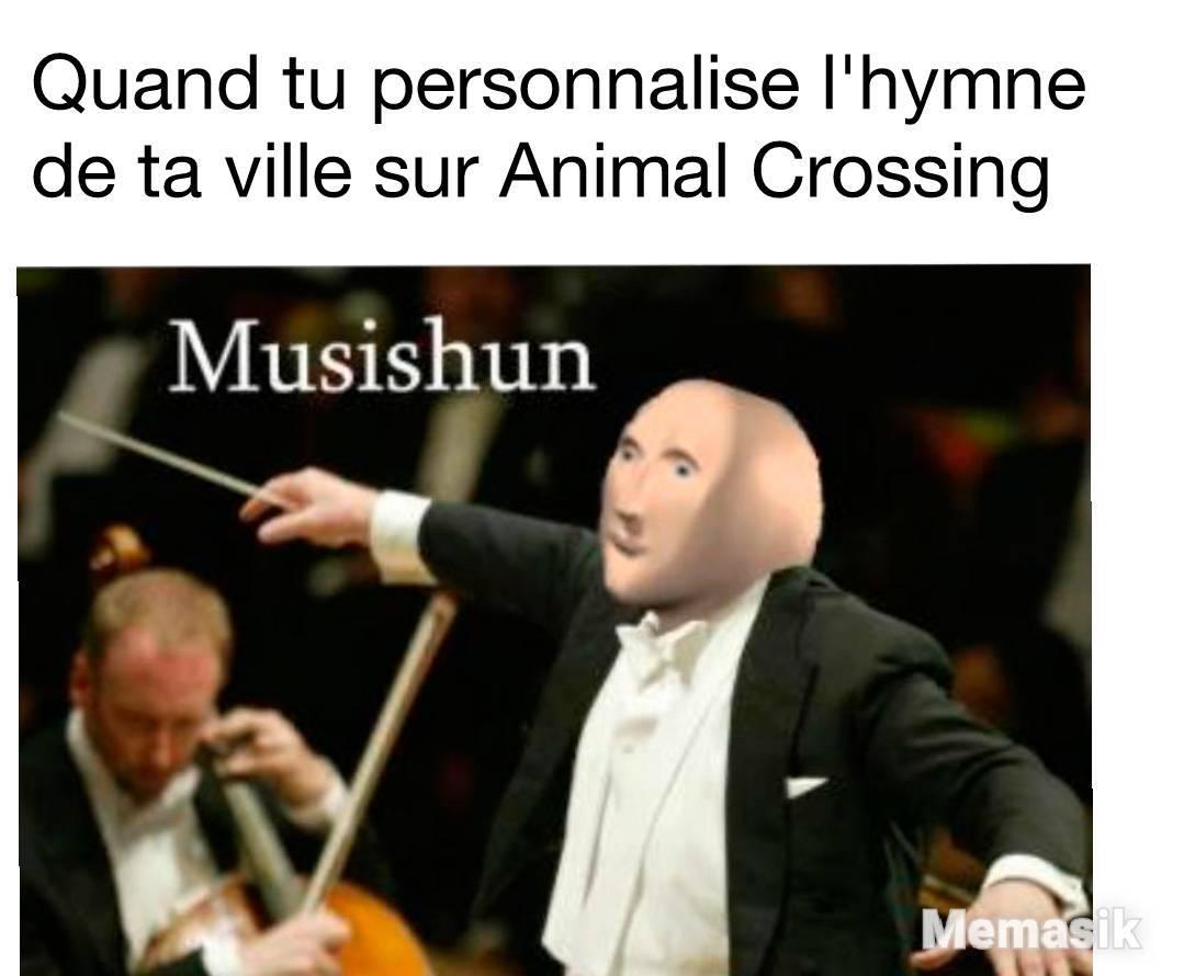 Le titre compose l'hymne nationale - meme
