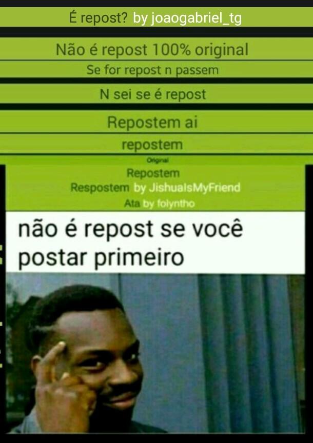 Repostem - meme