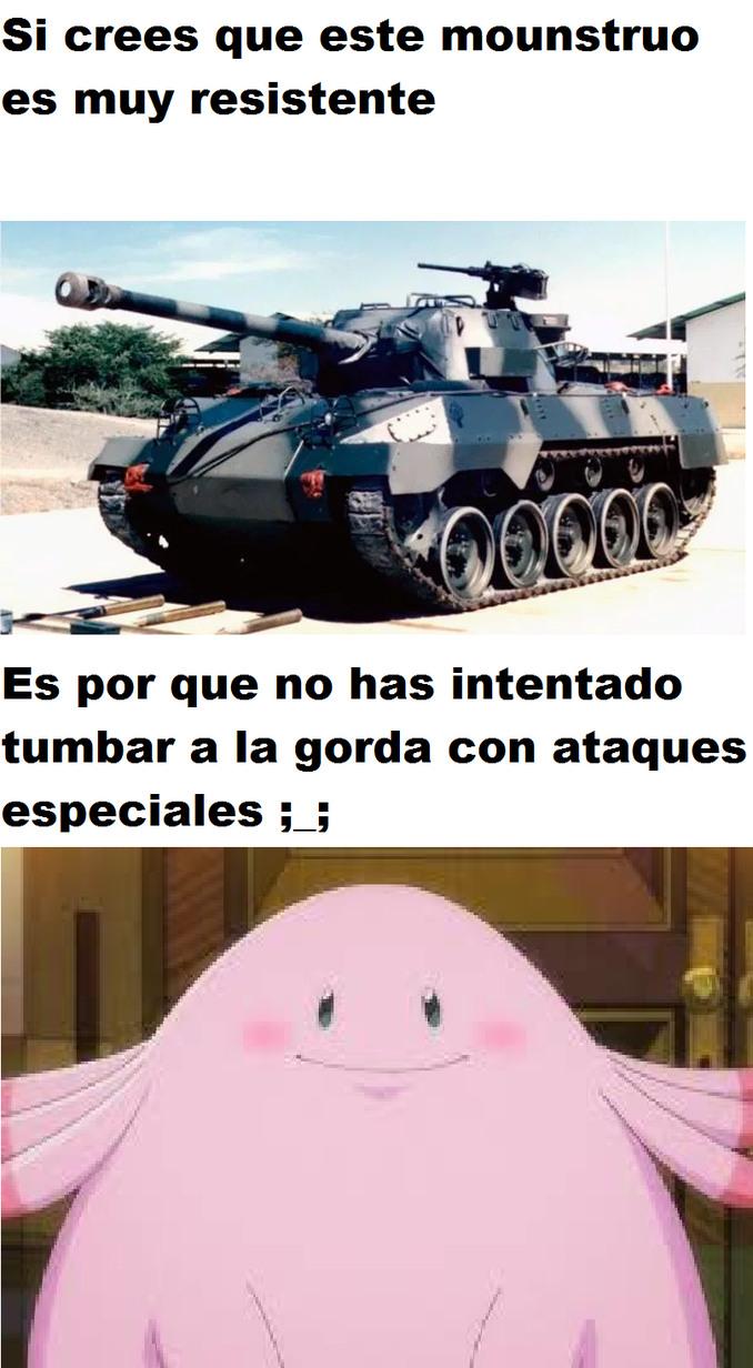 La gorda - meme