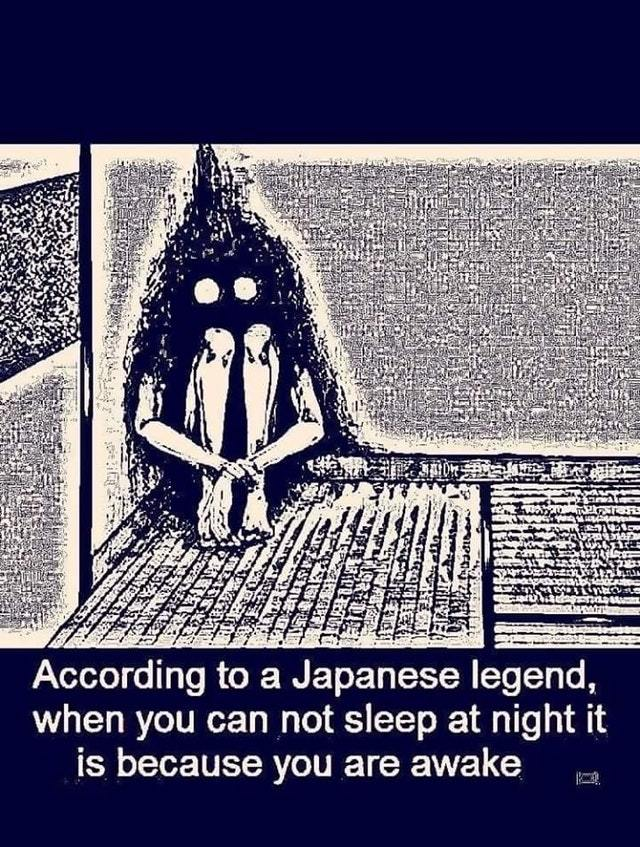 Scary Japanese legend - meme