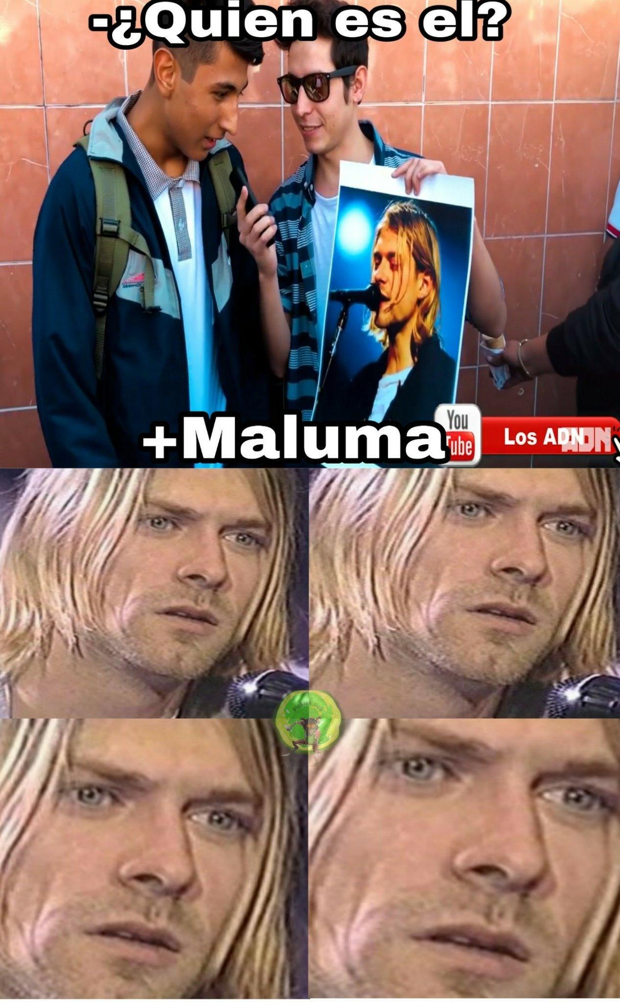Pobre Kurt - meme