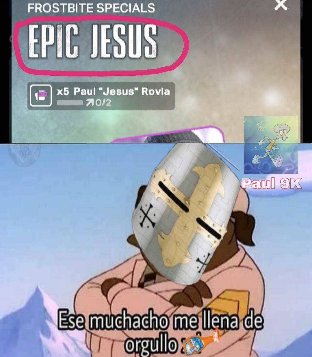 Jesús es épico - meme
