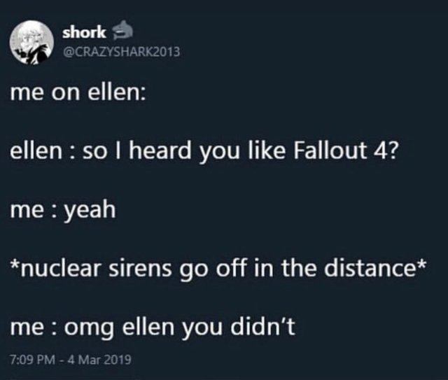 FALLout its happening its finaly happening - meme