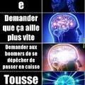 *Tousse*