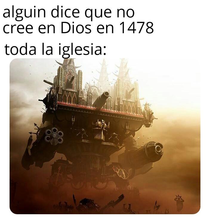 Un titan imperator a tus ordenes - meme