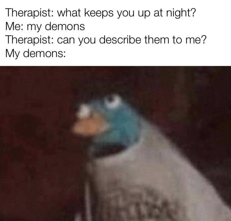 A pigeon - meme