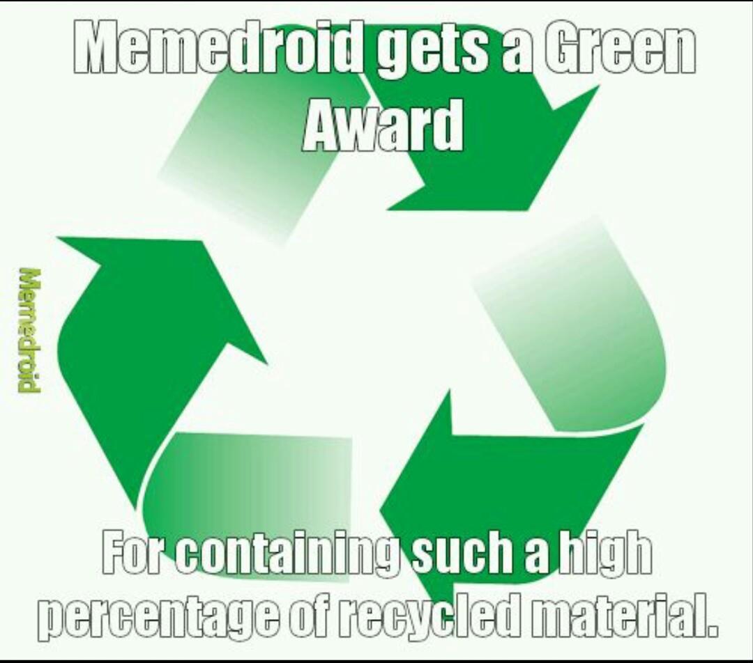 Going green - meme