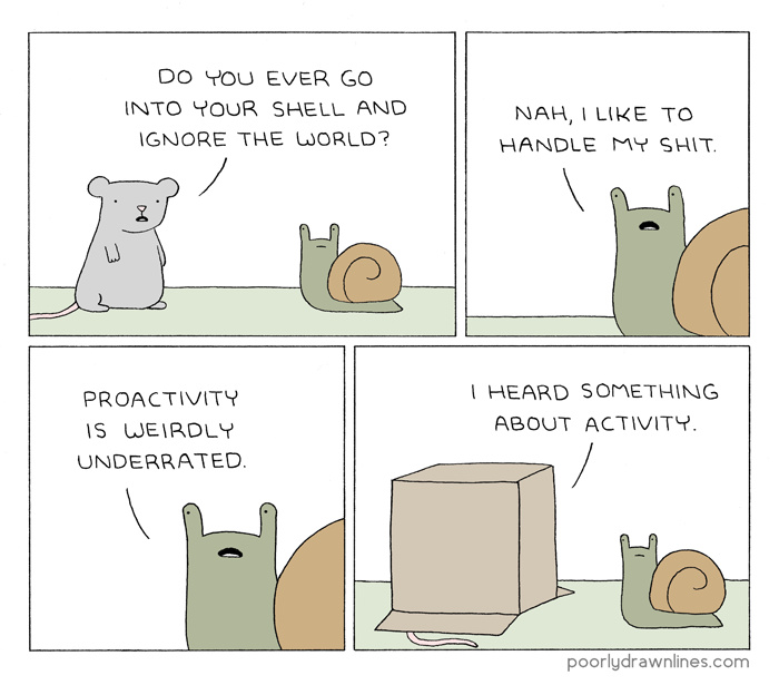 Strong snail