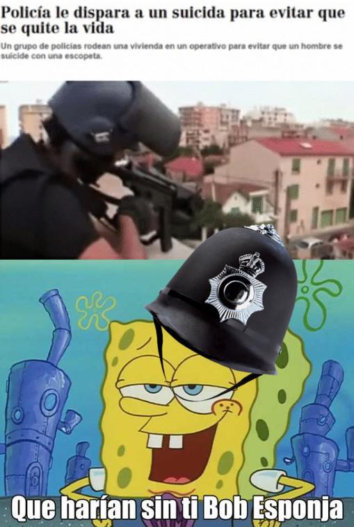 Menuo policia - meme