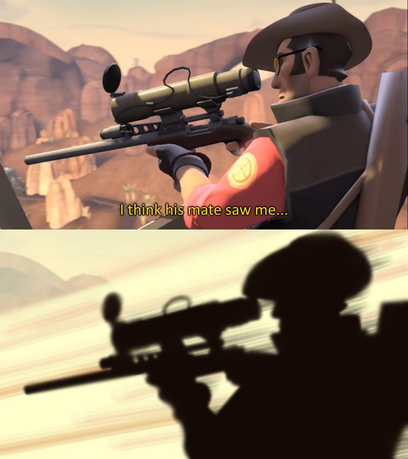 Sniper confirmed for smash - meme