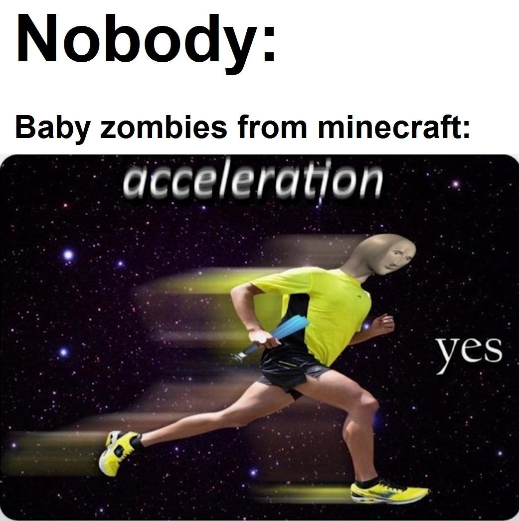 Baby zombies? YES - meme