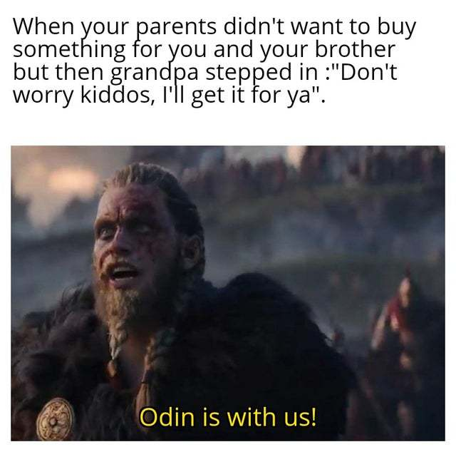 When your parents didn't want to buy something for you and your brother - meme