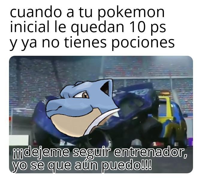 Chiste de pokemon - meme