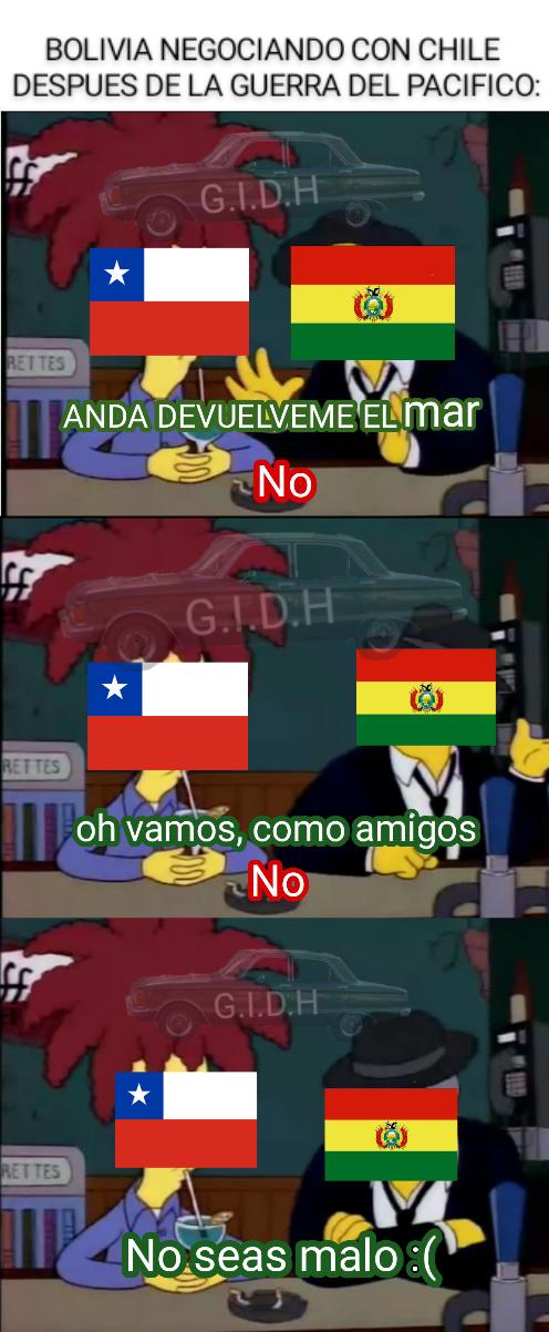 Pobre bolivia :( - meme