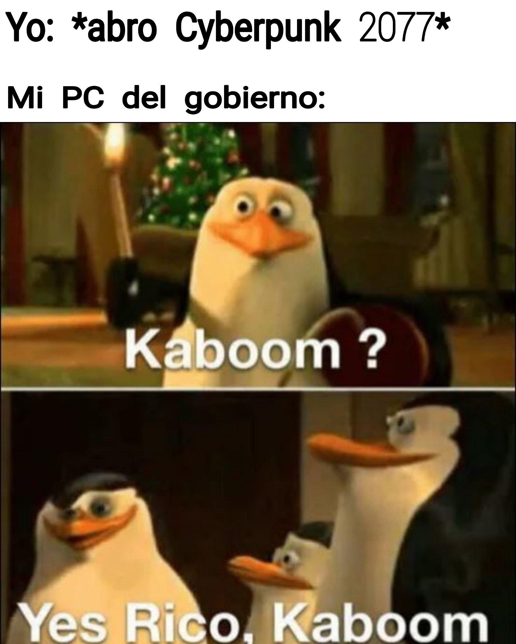 Kaboom? - meme