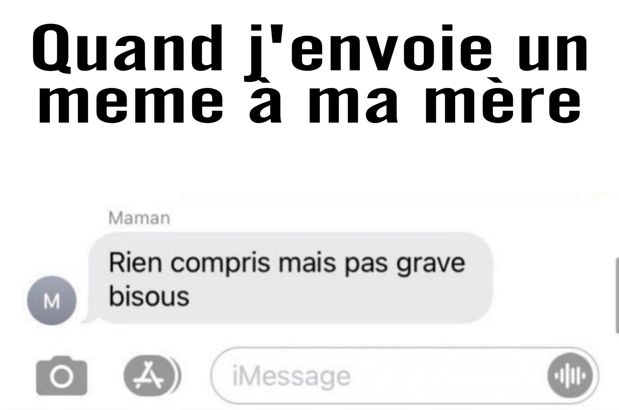Bisous - meme
