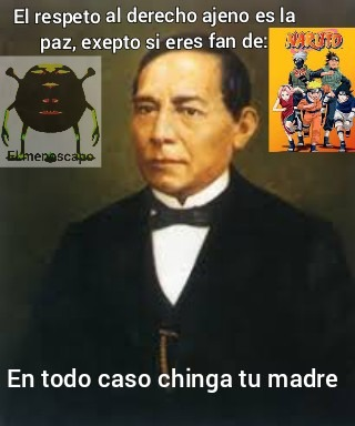 Benito Juarez - meme