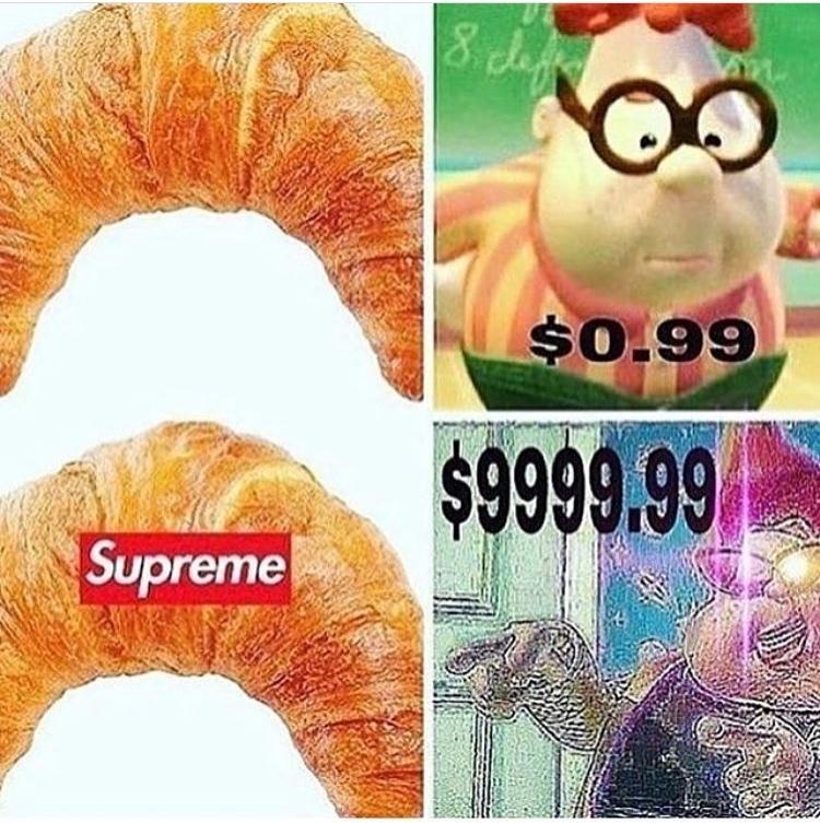 Supreme victory - meme