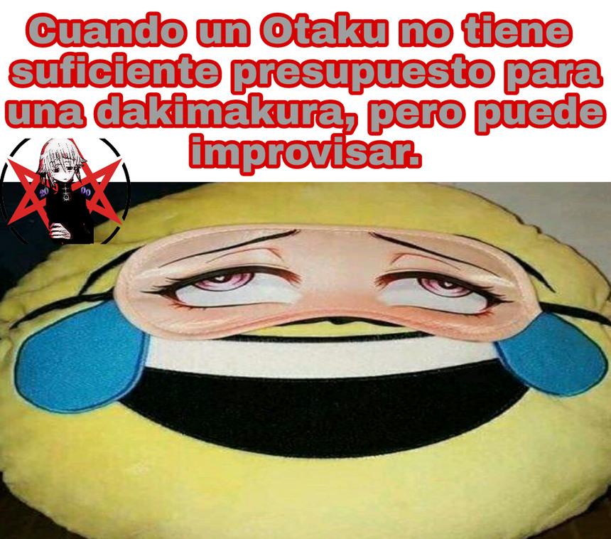 La imaginación de los otakus es rara... - meme