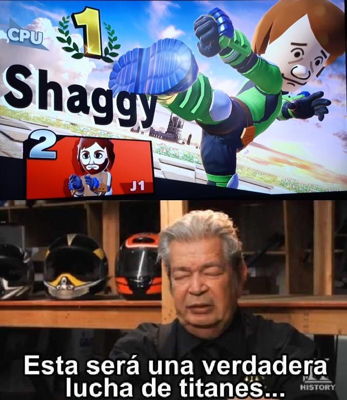 Shaggy vs chuck norris - meme