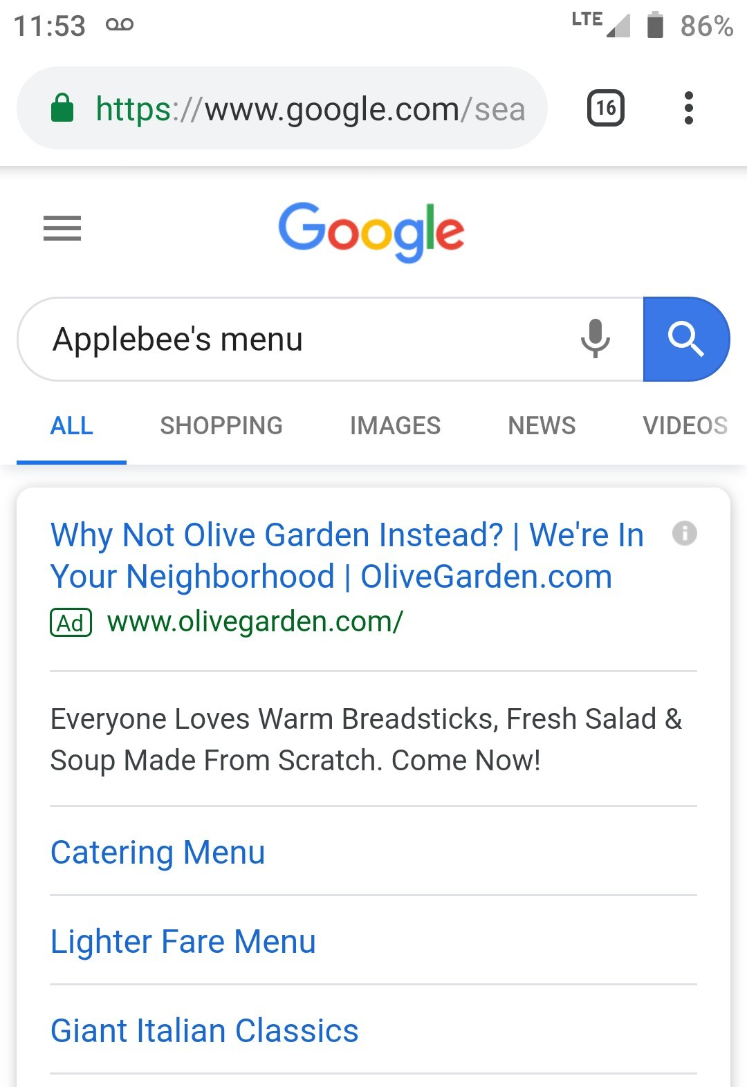 I want Applebee's tho - meme