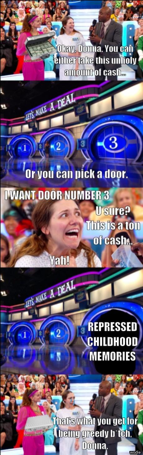 Always just take the cash - meme