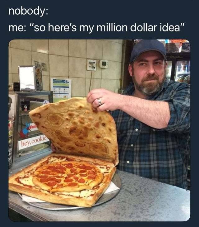 Million dollar idea - meme