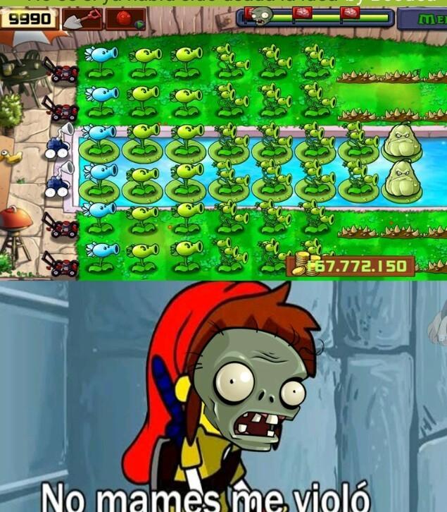 Plantas vs zombiez smlg - meme