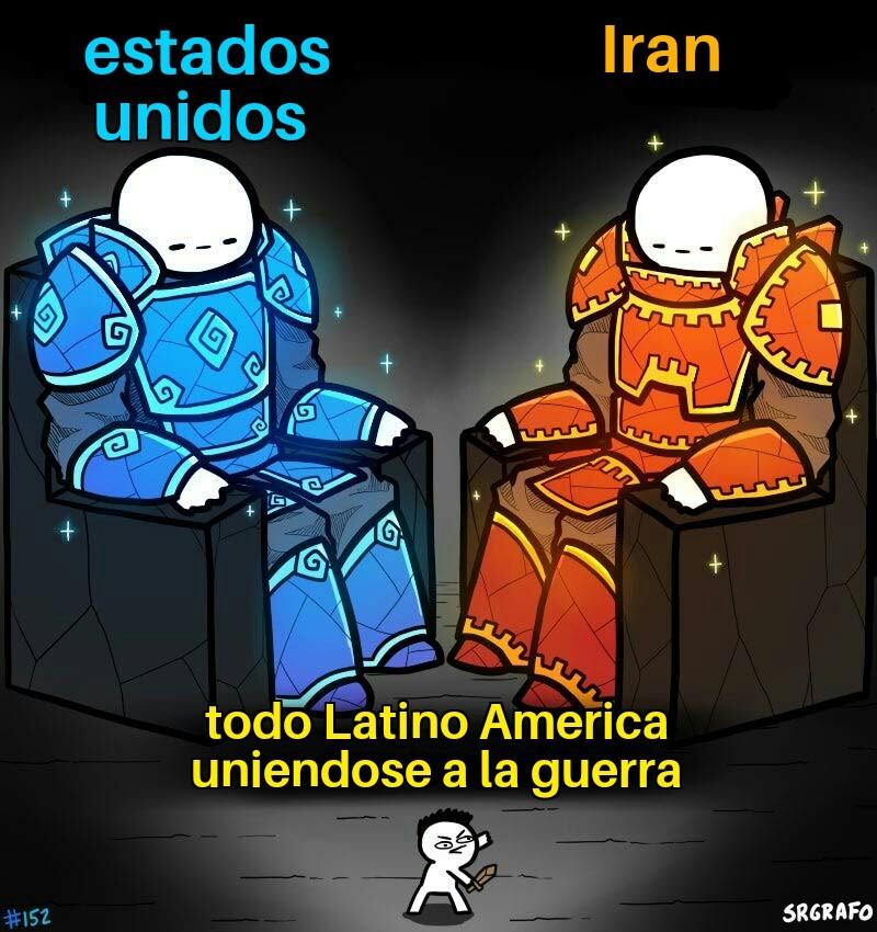 Guerra mundial - meme