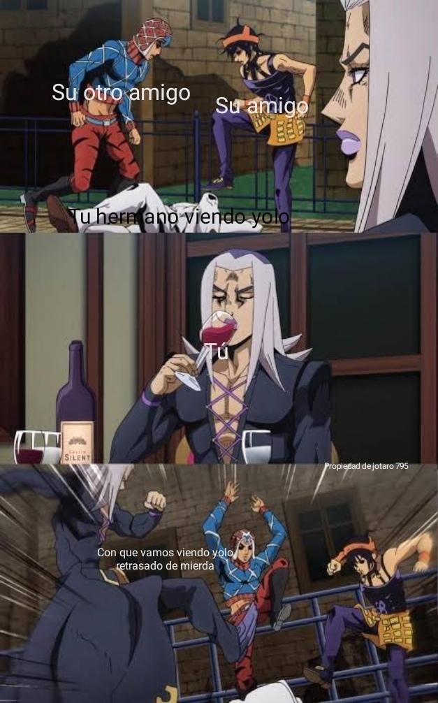 Se lo merece por retrasado - meme