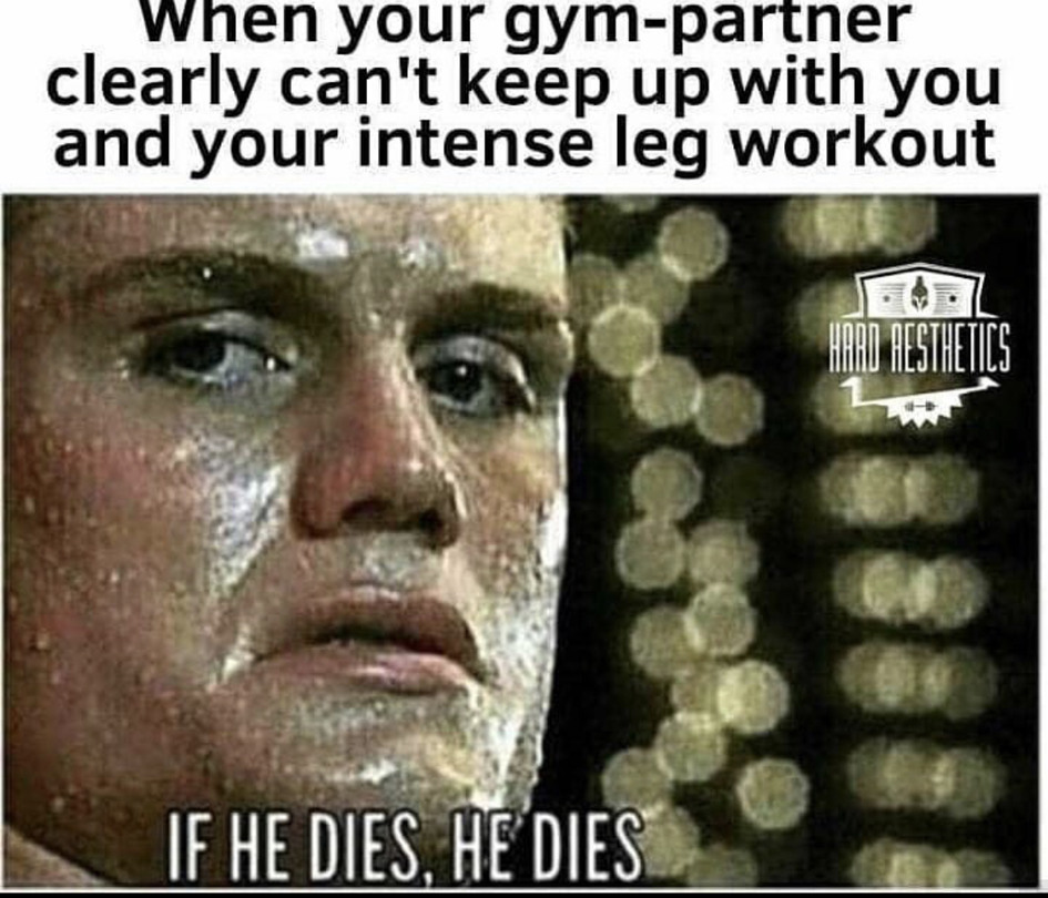 Leg day - meme