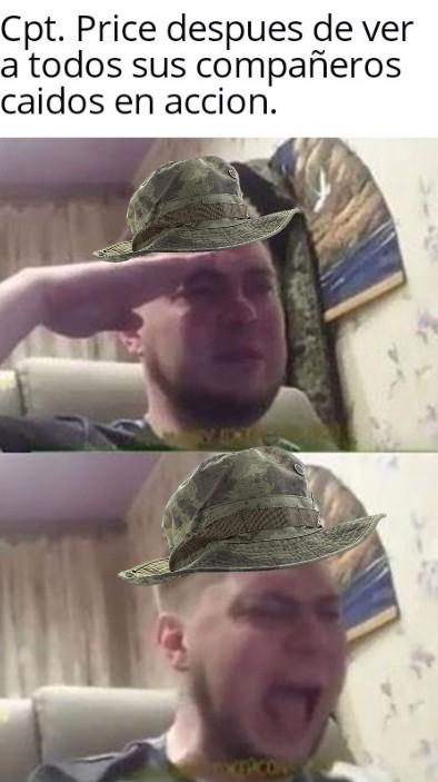 Ya deberia ser General Price - meme