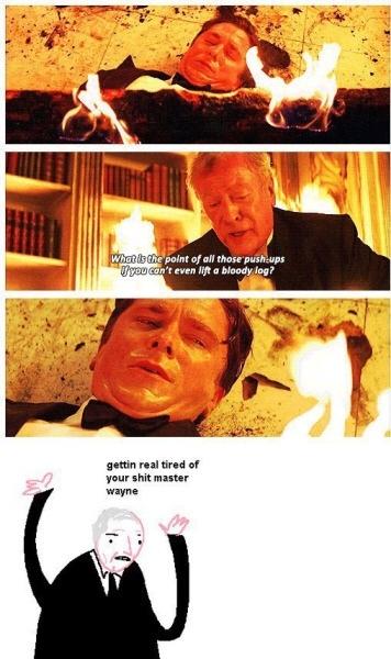 do you even lift, master Wayne? - meme