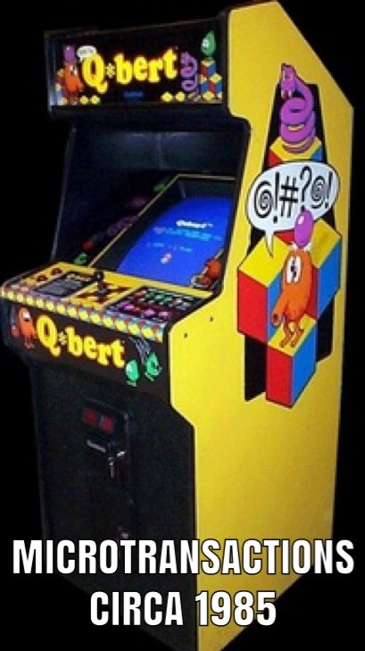 Q-bert was da man - meme