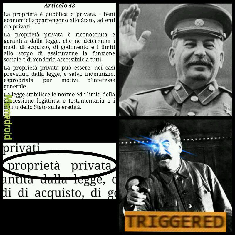 Stalin è memoso - meme
