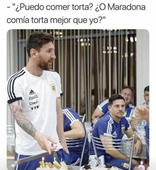 Siempre Messi - meme