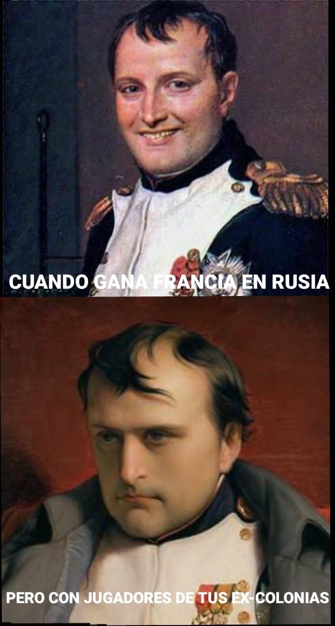El sueño napoleónico... - meme