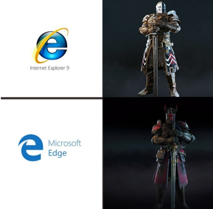 I wanted to share this. r/forhonor u/MistahJ17 - meme