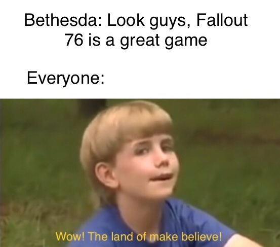 Fallout from Fallout - meme