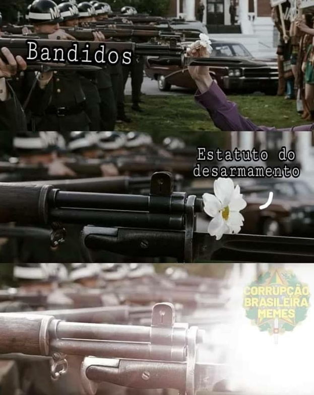 Armas matam seu fascisto!!! - meme